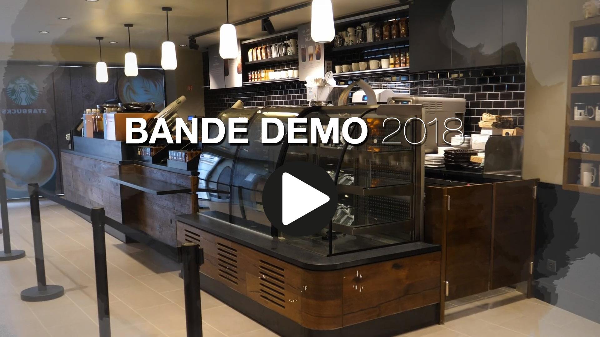 Bande demo réalisation vidéo 2018
